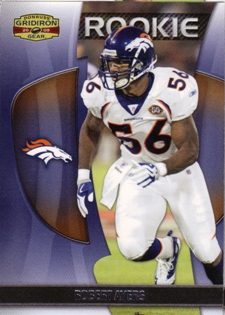 2009 Donruss Gridiron Gear #188 Robert Ayers RC