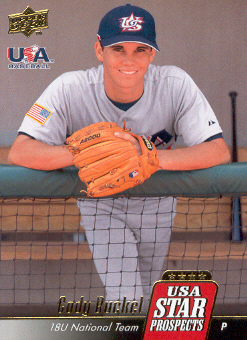 2009 Upper Deck Signature Stars USA Star Prospects #USA1 Cody Buckel