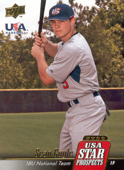 2009 Upper Deck Signature Stars USA Star Prospects #USA4 Sean Coyle