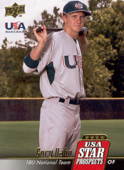 2009 Upper Deck Signature Stars USA Star Prospects #USA7 Cory Hahn