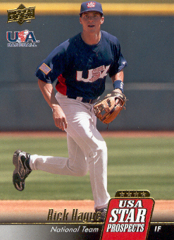 2009 Upper Deck Signature Stars USA Star Prospects #USA30 Rick Hague
