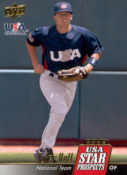 2009 Upper Deck Signature Stars USA Star Prospects #USA31 Tyler Holt