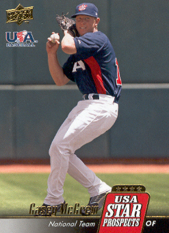 2009 Upper Deck Signature Stars USA Star Prospects #USA32 Casey McGrew