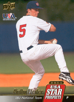 2009 Upper Deck Signature Stars USA Star Prospects #USA13 Phillip Pfeifer
