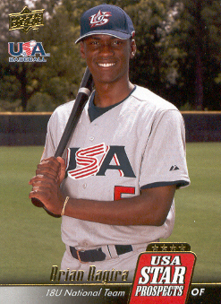 2009 Upper Deck Signature Stars USA Star Prospects #USA14 Brian Ragira