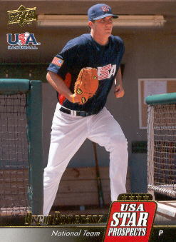 2009 Upper Deck Signature Stars USA Star Prospects #USA36 Drew Pomeranz