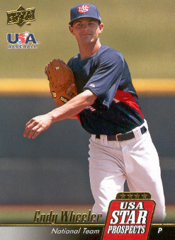 2009 Upper Deck Signature Stars USA Star Prospects #USA38 Cody Wheeler