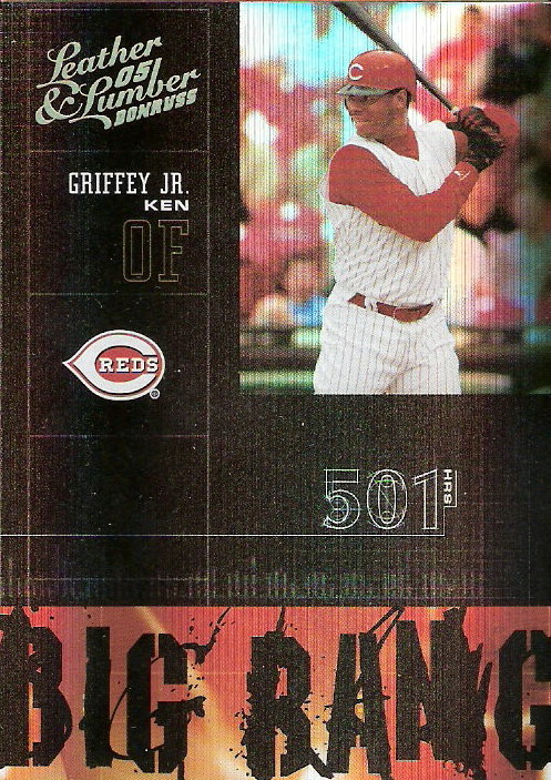 2005 Leather and Lumber Big Bang Gold #18 Ken Griffey Jr.