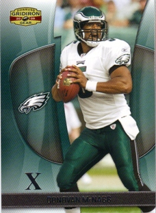 2009 Donruss Gridiron Gear Silver X's #29 Donovan McNabb