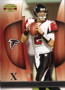 2009 Donruss Gridiron Gear Silver X's #69 Matt Ryan