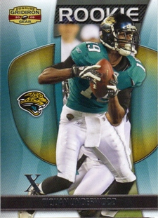 2009 Donruss Gridiron Gear Silver X's #194 Tiquan Underwood
