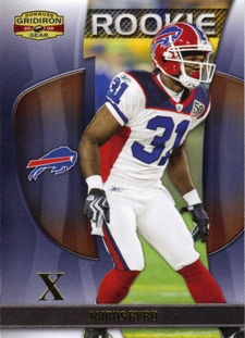 2009 Donruss Gridiron Gear Gold X's #156 Jairus Byrd