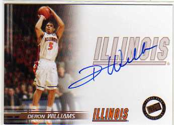 2005 Press Pass Autographs #DW Deron Williams SP