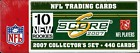 2007 Score NFL Factory Set ! 440 Cards including Adrian Peterson RC