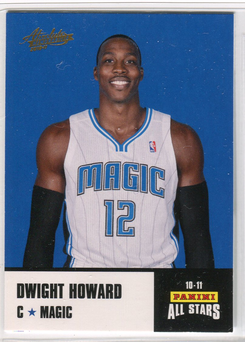 2010-11 Absolute Memorabilia Panini All Stars Rack Pack #1 Dwight Howard
