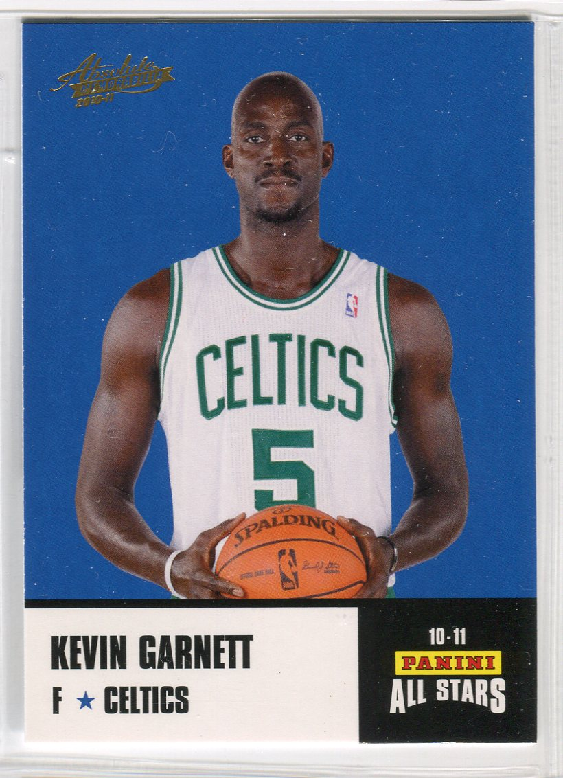 2010-11 Absolute Memorabilia Panini All Stars Rack Pack #3 Kevin Garnett