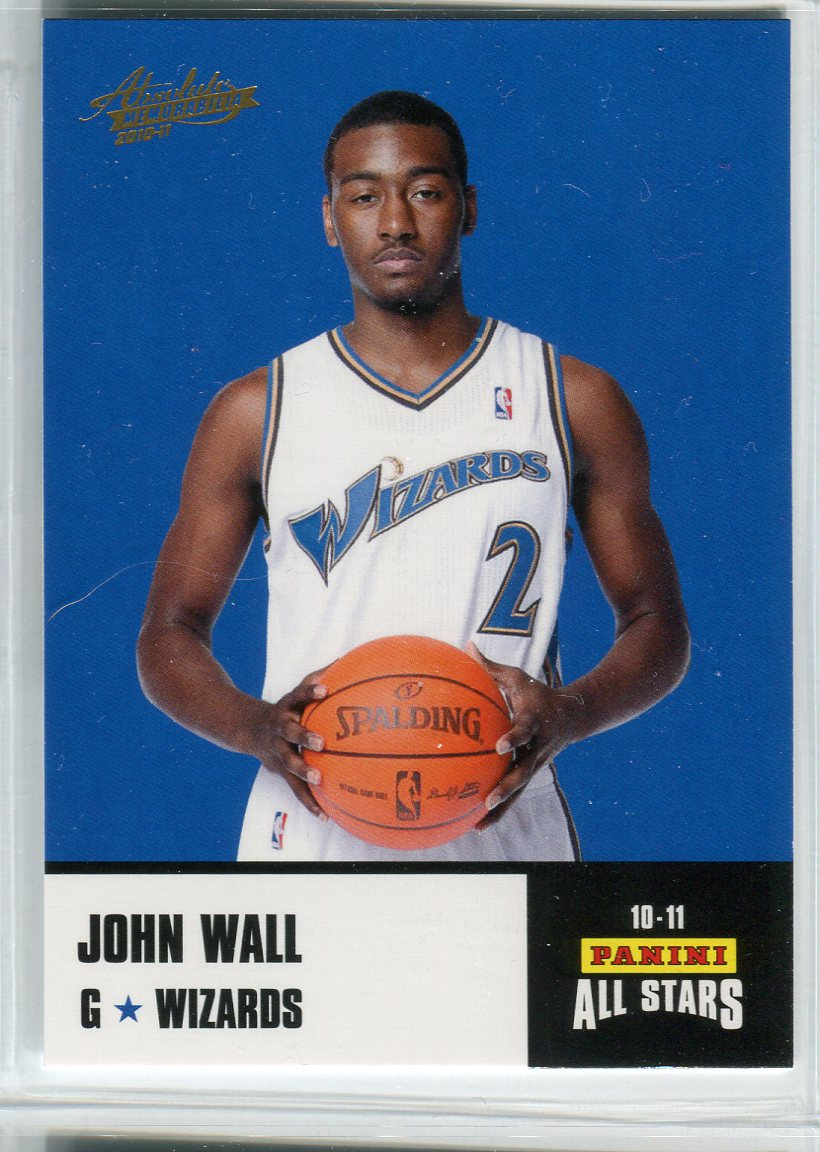 2010-11 Absolute Memorabilia Panini All Stars Rack Pack #8 John Wall