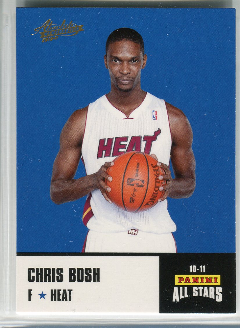 2010-11 Absolute Memorabilia Panini All Stars Rack Pack #10 Chris Bosh