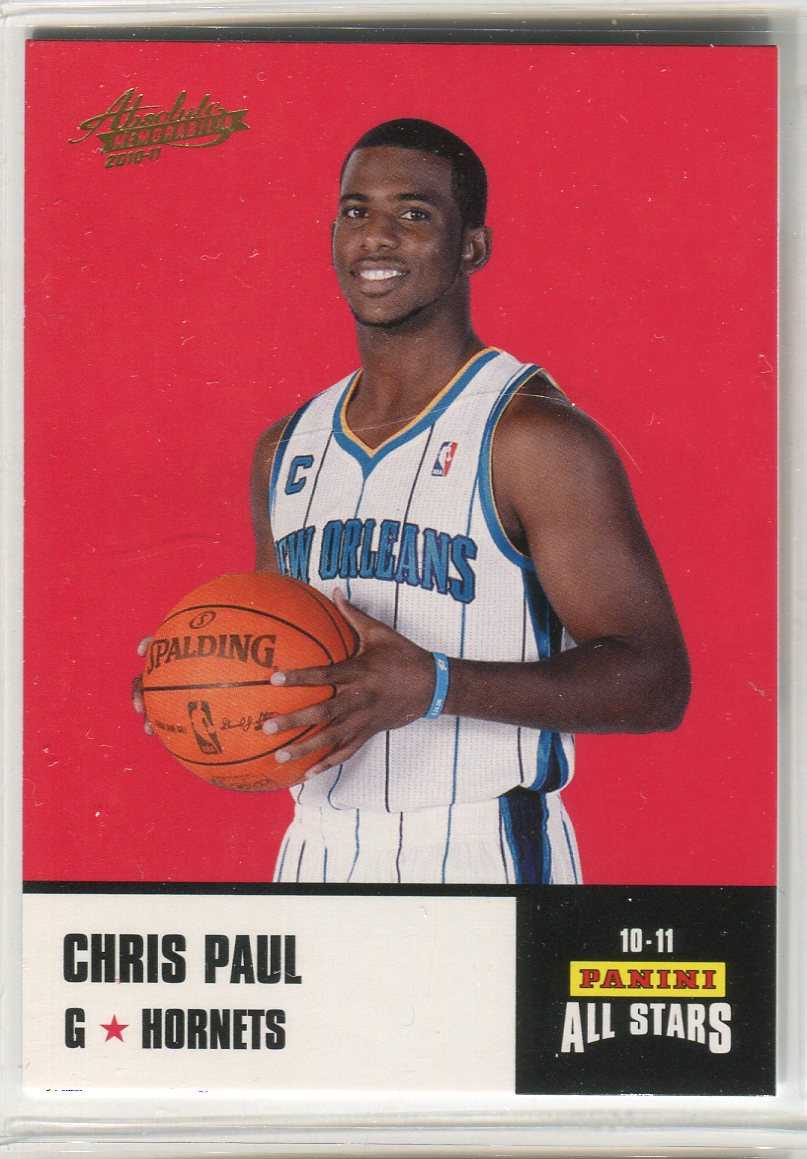 2010-11 Absolute Memorabilia Panini All Stars Rack Pack #15 Chris Paul