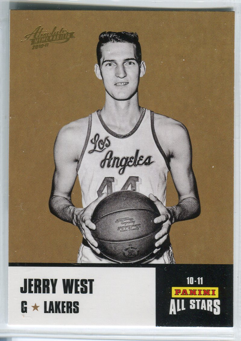 2010-11 Absolute Memorabilia Panini All Stars Rack Pack #29 Jerry West