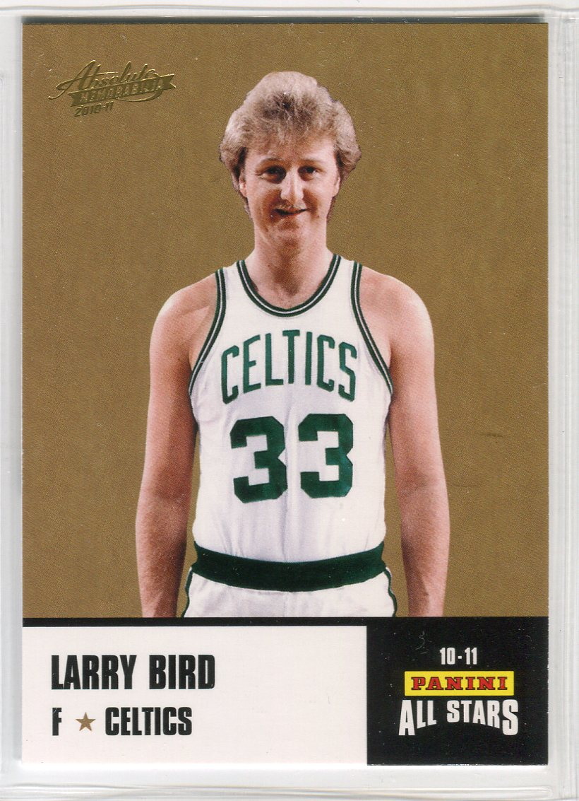 2010-11 Absolute Memorabilia Panini All Stars Rack Pack #33 Larry Bird