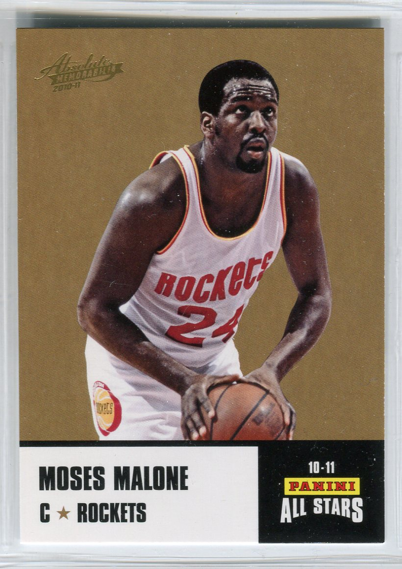 2010-11 Absolute Memorabilia Panini All Stars Rack Pack #35 Moses Malone