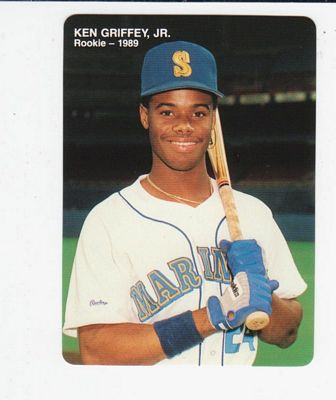 1989 Mother's Griffey Jr. #3 Ken Griffey Jr./(Looking straight/ahead with bat