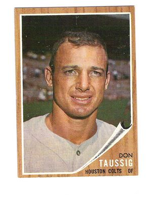 1962 Topps #44 Don Taussig RC front image
