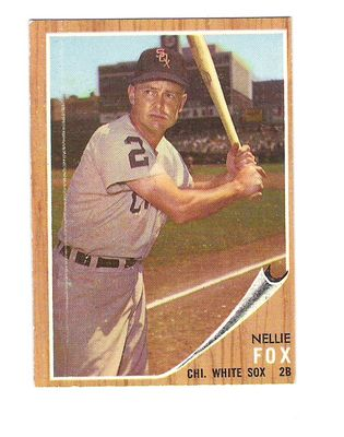 1962 Topps #73 Nellie Fox