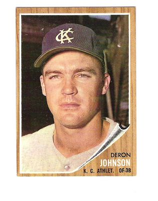 1962 Topps #82 Deron Johnson