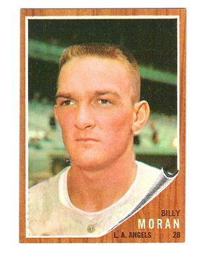 1962 Topps #539 Billy Moran