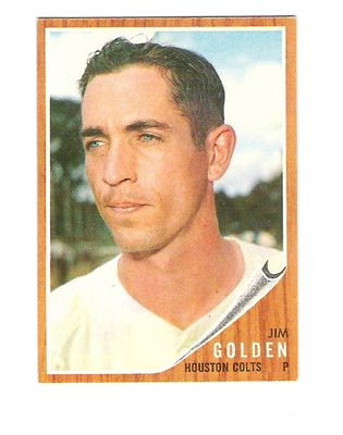 1962 Topps #568 Jim Golden