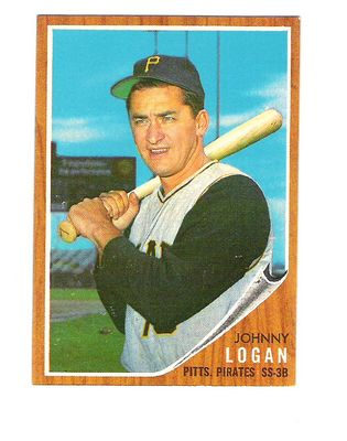 1962 Topps #573 Johnny Logan