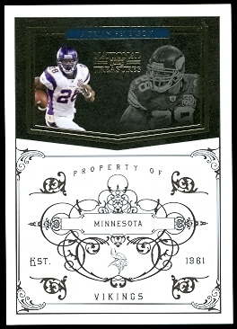 2010 Playoff National Treasures #79 Adrian Peterson