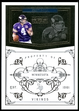 2010 Playoff National Treasures #81 Brett Favre