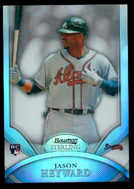 2010 Bowman Sterling Refractors #20 Jason Heyward