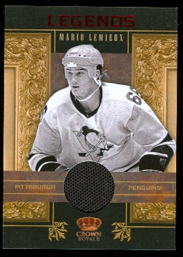 2010-11 Crown Royale Legends Memorabilia #4 Mario Lemieux