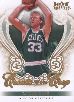 2008-09 Hot Prospects Cream of the Crop #CC28 Larry Bird