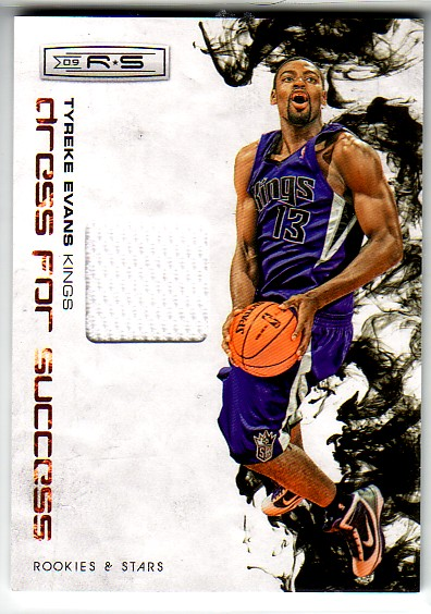 2009-10 Rookies and Stars Dress for Success Materials #4 Tyreke Evans