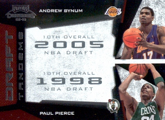 2009-10 Playoff Contenders Draft Tandems #13 Andrew Bynum/Paul Pierce