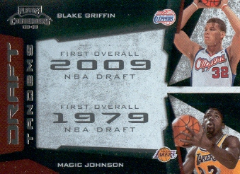 2009-10 Playoff Contenders Draft Tandems #17 Blake Griffin/Magic Johnson front image