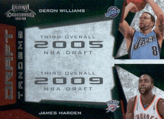 2009-10 Playoff Contenders Draft Tandems #18 Deron Williams/James Harden