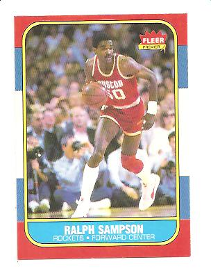1986-87 Fleer #97 Ralph Sampson RC