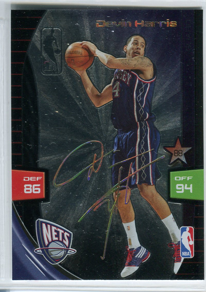 2009-10 Adrenalyn XL Ultimate Signature #11 Devin Harris