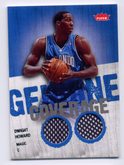 2008-09 Fleer Genuine Coverage #GCDH Dwight Howard