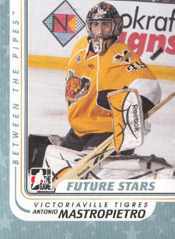 2010-11 Between The Pipes #3 Antonio Mastropietro
