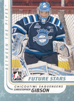 2010-11 Between The Pipes #7 Christopher Gibson