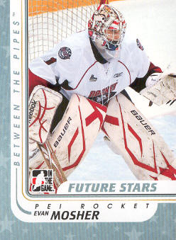 2010-11 Between The Pipes #11 Evan Mosher