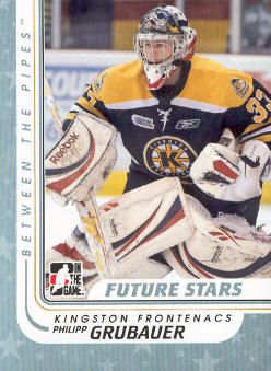 2010-11 Between The Pipes #36 Philipp Grubauer