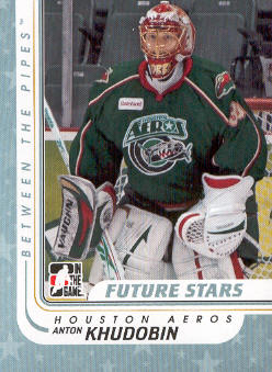2010-11 Between The Pipes #48 Anton Khudobin